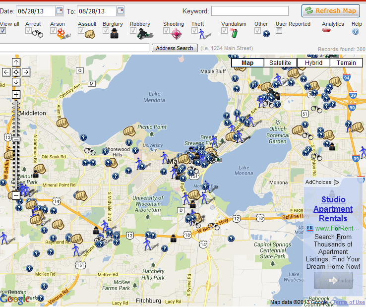 Why You Need SecurityMadison WI Crime Map JK Security