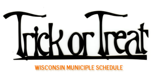 Wisconsin Madison Trick Or Treat Schedule 20130