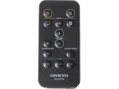 Onkyo LS-T10 3D Space Saving Home Theater Surround Sound Madison remote