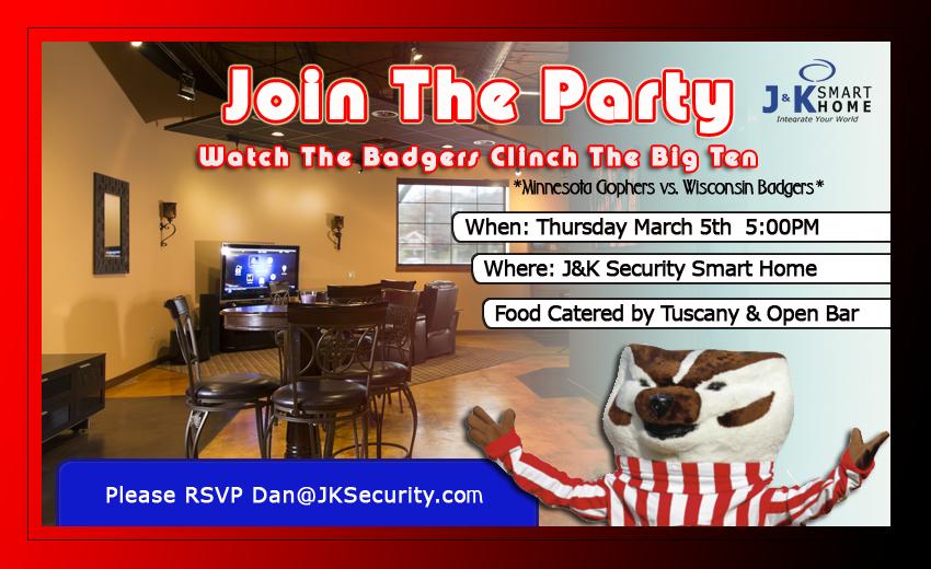 Badger Game Invite